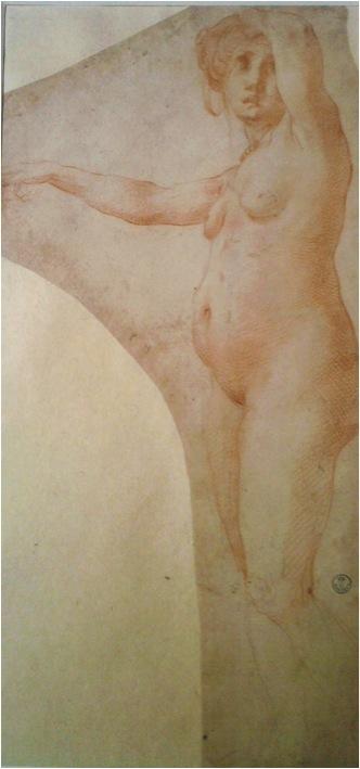 Rosso, female nude