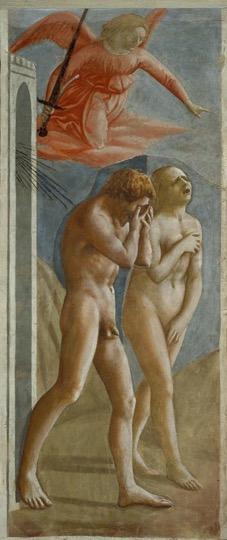Masaccio Adam and Eve