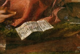 Titian, Andrians detail