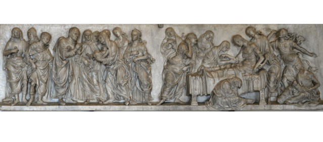 Verrocchio wksp Pitti Tornabuoni relief